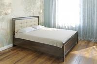 Кровать с мягким изголовьем 140, 160, 180*200