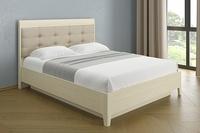 Кровать с мягким изголовьем с 120 по 180*200