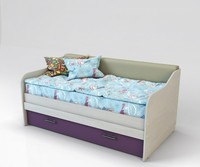 Кровать-софа 11 Color с мягкой спинкой