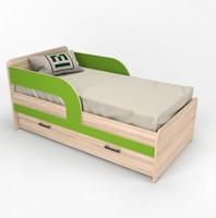 Кровать-софа 7 - 1 ящик 2 бортика