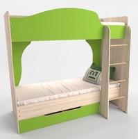 Кровать Спутник 1 двухъярусная