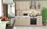 Кухня Лондон 1,6 м - 2 цвета