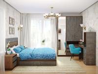 Модульная спальня Леон