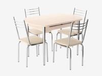 Обеденная зона Вегас стол, 4 стула
