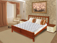 Кровать ПРАГА (160*200)
