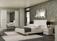 Спальня ALBERTA белый-белый альпийский