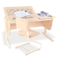 Комплект Дэми СУТ.17М стол + стул фанера